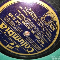 Discos de pizarra: DISCO PIZARRA. Lote 198588191