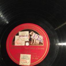 Discos de pizarra: DISCO DE PIZARRA FABRICADO POR COMPAÑÍA DEL GRAMÓFONO S.A.E. BARCELONA. 78 RPM.. Lote 198661201