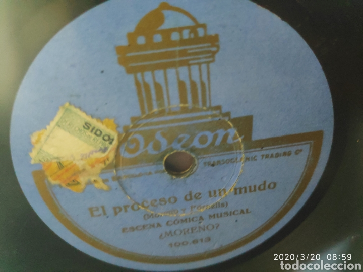 DISCO PIZARRA (Música - Discos - Pizarra - Otros estilos)