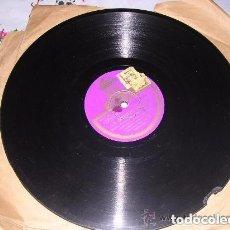 Discos de pizarra: DISCO ODEON LA SUERTE NEGRA 203.103 DISCO DE PIZARRA. Lote 198949917