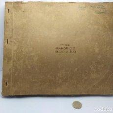 Discos de pizarra: ESTUPENDO ALBUM DE 6 DISCOS GRAMOPHONE WINEL, MUY RARO. Lote 199190233