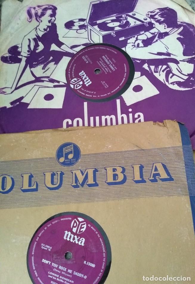 LOTE DE 3 DISCOS DE PIZARRA NIXA DE INGLATERRA AÑOS 50 (Música - Discos - Pizarra - Jazz, Blues, R&B, Soul y Gospel)