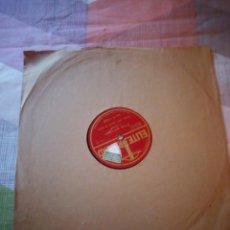 Discos de pizarra: MON CHEZ NOUS PIERRE PATRIOTIQUE J. DALCROZE. Lote 199696011