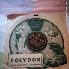Discos de pizarra: LA VOIX DES CLOCHES - ORCHESTRE SYMPHONIQUE. Lote 199696763