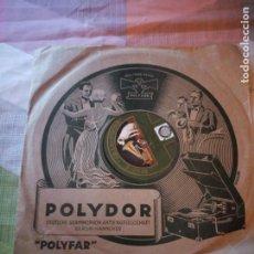 Discos de pizarra: LA MADONE DES ROSES REVIENS LE BAIL M. PAUL GESKY DE L'OLYMPIA. Lote 199697975