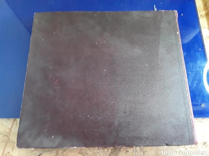 Discos de pizarra: Antiguo álbum de discos de piedra o pizarra de 29 cm POLIDOR - Foto 15 - 200796622