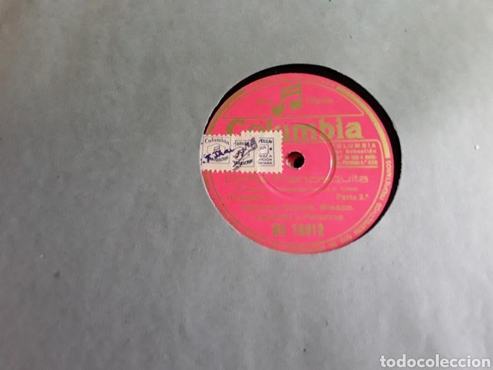 Discos de pizarra: Antiguo álbum completo de discos de pizarra de 29cm de la comedia lírica DOÑA FRANCISQUITA - Foto 3 - 200797616