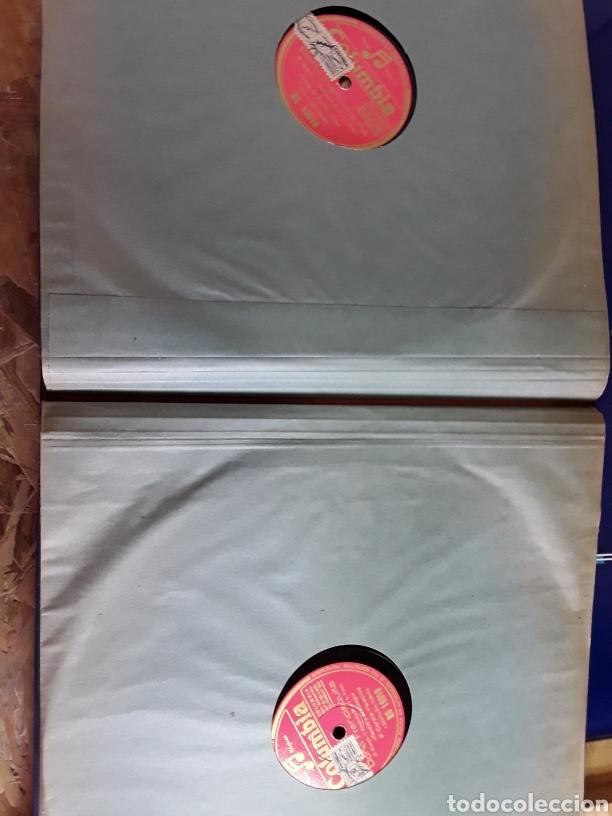 Discos de pizarra: Antiguo álbum completo de discos de pizarra de 29cm de la comedia lírica DOÑA FRANCISQUITA - Foto 10 - 200797616