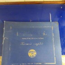 Discos de pizarra: ANTIGUO ÁLBUM COMPLETO DE DISCOS DE PIZARRA DE 29CM DE LA COMEDIA LÍRICA DOÑA FRANCISQUITA. Lote 200797616