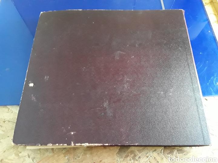 Discos de pizarra: Antiguo álbum de discos de piedra o pizarra de 29 cm POLIDOR,con álbum - Foto 15 - 200798160