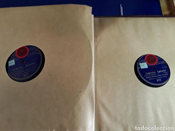 Discos de pizarra: Antiguo álbum de discos varios de piedra o pizarra de 29 cm POLIDOR,OSEON,REGAL,CON ALBUM - Foto 12 - 200800211