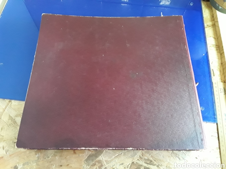 Discos de pizarra: Antiguo álbum de discos varios de piedra o pizarra de 29 cm POLIDOR,OSEON,REGAL,CON ALBUM - Foto 15 - 200800211