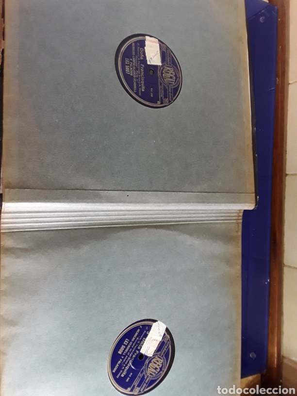 Discos de pizarra: Antiguo álbum completo de discos de pizarra de 29cm de la comedia lírica DOÑA FRANCISQUITA(regal) - Foto 3 - 200803240