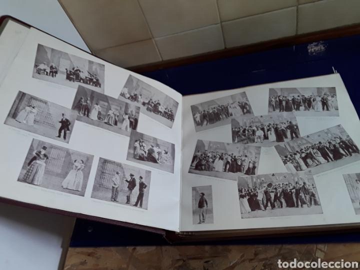 Discos de pizarra: Bonito Album de discos pequeños de pizarra de 24,5cm,grabados por ODEON,LA VERBENA DE LA PALOMA - Foto 3 - 200807066