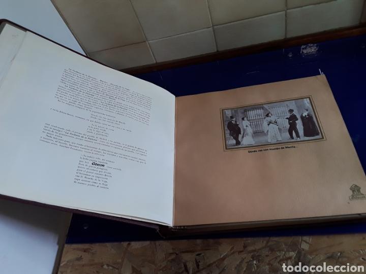 Discos de pizarra: Bonito Album de discos pequeños de pizarra de 24,5cm,grabados por ODEON,LA VERBENA DE LA PALOMA - Foto 4 - 200807066