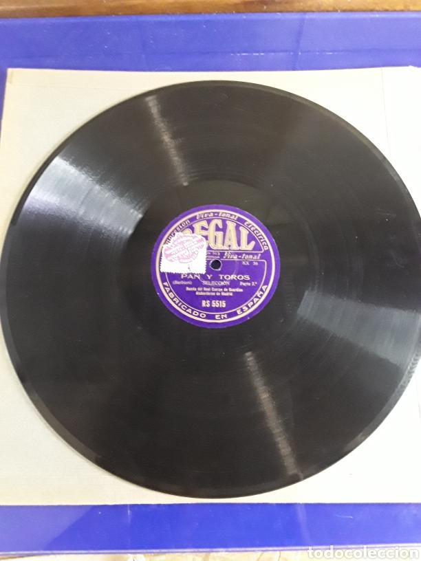 Discos de pizarra: Disco de pizarra de 29,5cm,REGAL(pan y toros) - Foto 2 - 200837117