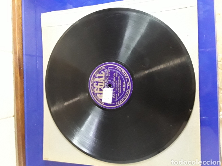 DISCO DE PIZARRA DE 29,5CM,REGAL(PAN Y TOROS) (Música - Discos - Pizarra - Otros estilos)