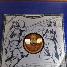 Discos de pizarra: DISCO DE PIZARRA DE 24,5CM,ODEON,(LOS CLAVELES). Lote 200843531