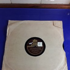Discos de pizarra: DISCO DE PIZARRA DE 24,5CM,ODEON,(LA DEL MANOJO DE ROSAS). Lote 200845083