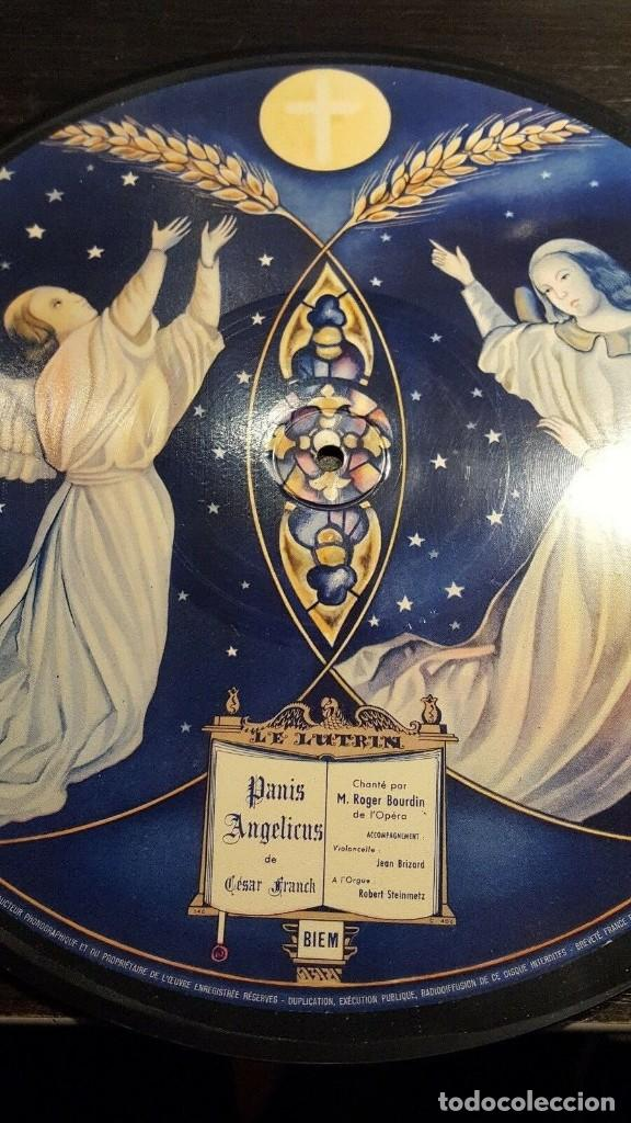 Discos de pizarra: DISCO 78 RPM - BIEM SASA PICTURE RECORD - GEORI BOUE - ROGER BOURDIN - SCHUBERT - OPERA - PIZARRA - Foto 2 - 201528372