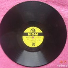 Disques en gomme-laque: GENE KELLY SINGIN' IN THE RAIN / YOU ARE MY LUCKY STAR - MGM 8217 - PIZARRA - SPAIN PRESSING 78RPM. Lote 201704968