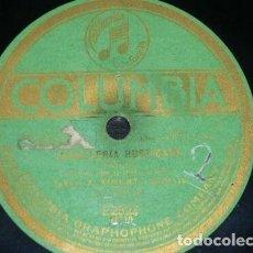Discos de pizarra: DISCO 78 RPM - COLUMBIA - BADINI - SIMONTI - OPERA - CAVALLERIA RUSTICANA - MASCAGNI - PIZARRA. Lote 201786067