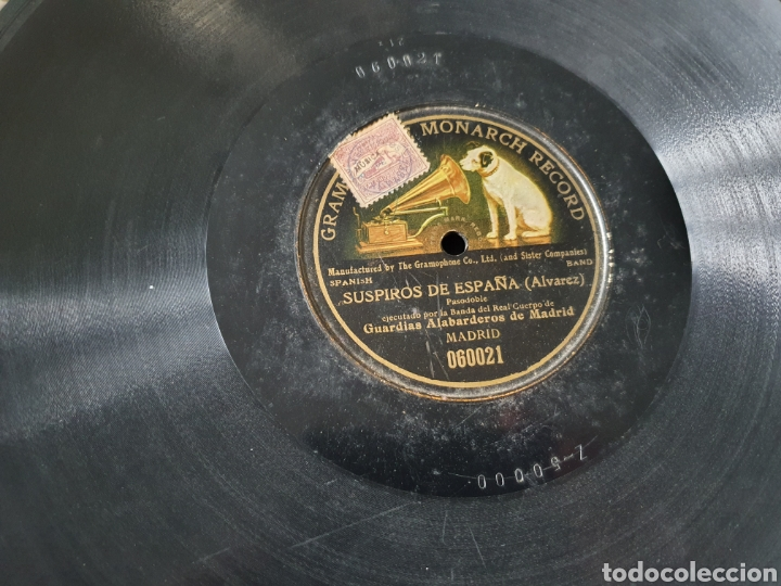 78 RPM SUSPIROS DE ESPAÑA (Música - Discos - Pizarra - Flamenco, Canción española y Cuplé)