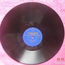 Discos de pizarra: WALLY STOTT Y SU ORQUESTA - CANDILEJAS (LIMELIGHT) - PHILIPS P 26035 H - PIZARRA 78 RPM - EX !!!!!. Lote 202501348