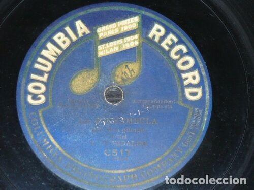 Discos de pizarra: DISCO 78 RPM - COLUMBIA - HIDALGO - SOPRANO - AGNOLETTO - TENOR - LA SONNAMBULA - OPERA - PIZARRA - Foto 2 - 202682282