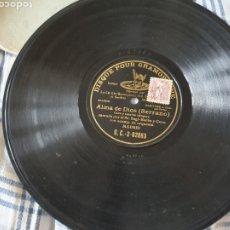 Discos de pizarra: 78 RPM SAGI BARBA. Lote 202893931