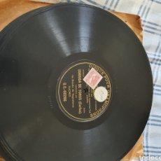 Discos de pizarra: 78 RPM CORRIDA DE TOROS.. Lote 202957428