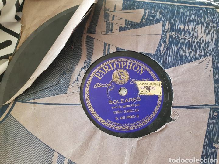 SABICAS SOLO DE GUITARRA/ PIZARRA (Música - Discos - Pizarra - Flamenco, Canción española y Cuplé)