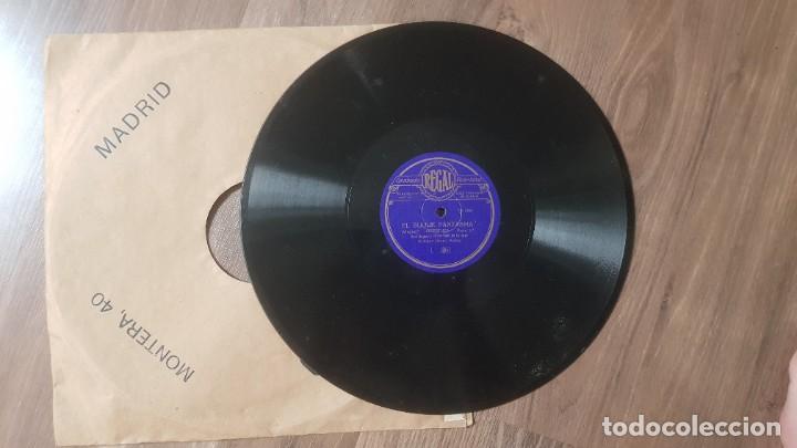 DISCO DE REGAL DE PIZARRA EL BUQUE FANTASMA DE REAL ORQUESTA FILARMONICA DE LONDRES (Música - Discos - Pizarra - Clásica, Ópera, Zarzuela y Marchas)