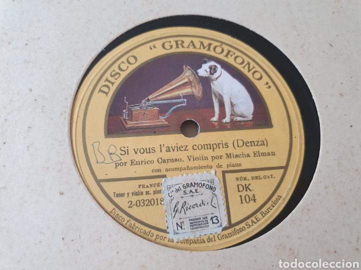 Discos de pizarra: 78 rpm Enrico Caruso - Foto 2 - 203437603