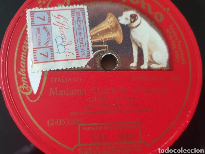 FRANCES ALDA MADAMA BUTTERFLY (Música - Discos - Pizarra - Clásica, Ópera, Zarzuela y Marchas)
