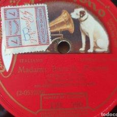 Discos de pizarra: FRANCES ALDA MADAMA BUTTERFLY. Lote 203438293