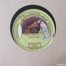 Discos de pizarra: 78 RPM GRAMOPHONE ENRICO CARUSO. Lote 203439998