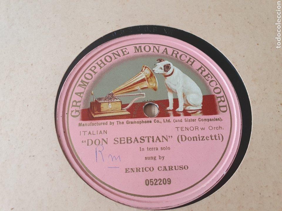 78 RPM CARUSO (Música - Discos - Pizarra - Clásica, Ópera, Zarzuela y Marchas)