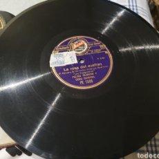 Discos de pizarra: LA ROSA DEL AZAFRAN PIZARRA. Lote 203479357