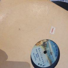 Discos de pizarra: JOTA Y SEVILLANA GINES SANCHEZ. Lote 203569698