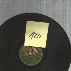 Discos de pizarra: ORQUESTA AMBROSE DEMASIADAS LAGRIMAS. Lote 203578707