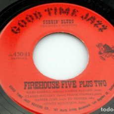 Discos de pizarra: DISCO PIZARRA. FIREHOUSE FIVE PLUS TWO.FIREHOUSE STOMP / BLUES MY NAUGHTY SWEETIE GIVES TO ME.. Lote 203590476