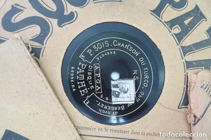 Discos de pizarra: LOTE 11 DISCOS - DISQUE PATHE - FRANCIA - Foto 3 - 203777690