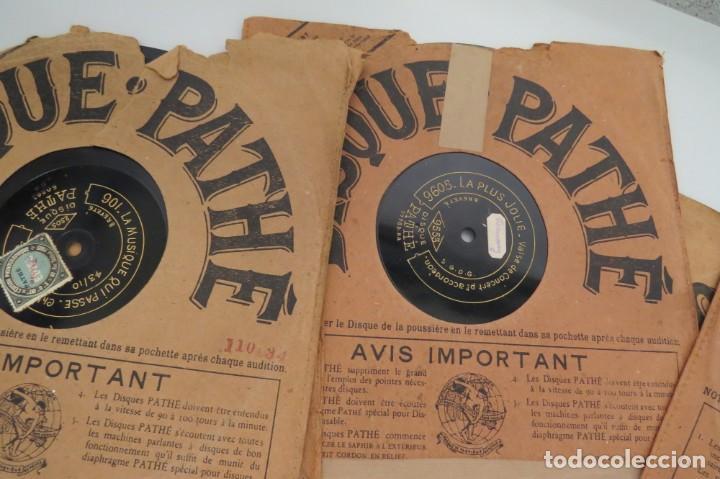 Discos de pizarra: LOTE 11 DISCOS - DISQUE PATHE - FRANCIA - Foto 5 - 203777690