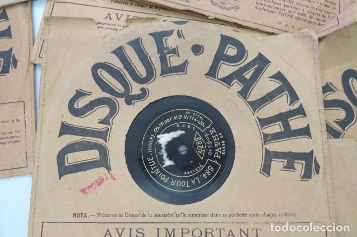 Discos de pizarra: LOTE 11 DISCOS - DISQUE PATHE - FRANCIA - Foto 8 - 203777690