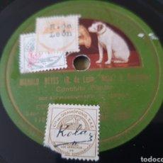 Discos de pizarra: SIEMPRE SEVILLA/ CONCHA PIQUER.. Lote 203899727