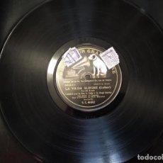 Discos de pizarra: DISCO GRAMÓFONO. LA VIUDA ALEGRE DE LEHAR.. Lote 204449181