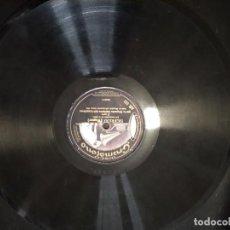 Discos de pizarra: DISCO GRAMÓFONO SIGFRIDO DE WAGNER. Lote 204453016