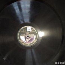 Discos de pizarra: DISCO GRAMÓFONO EL ANILLO DE HIERRO-CAMPANONE. Lote 204453857