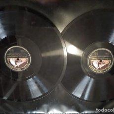 Discos de pizarra: DISCO GRAMÓFONO LOS MAESTROS CANTORES DE WAGNER. DOS DISCOS. Lote 204455143